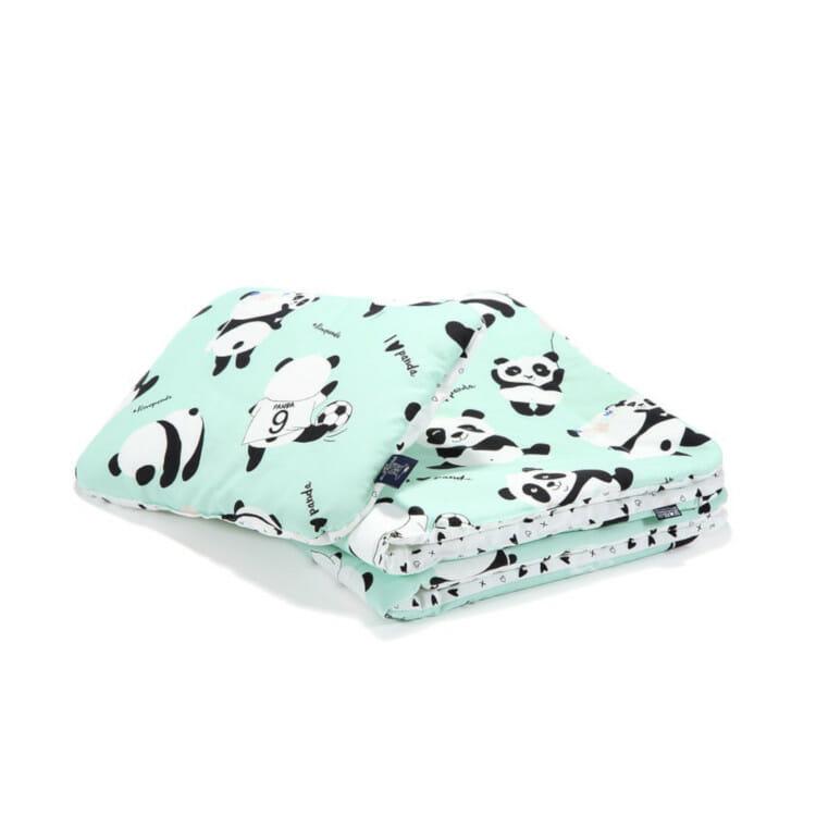 Bettwäsche Junior I Love Panda Goldigkeit